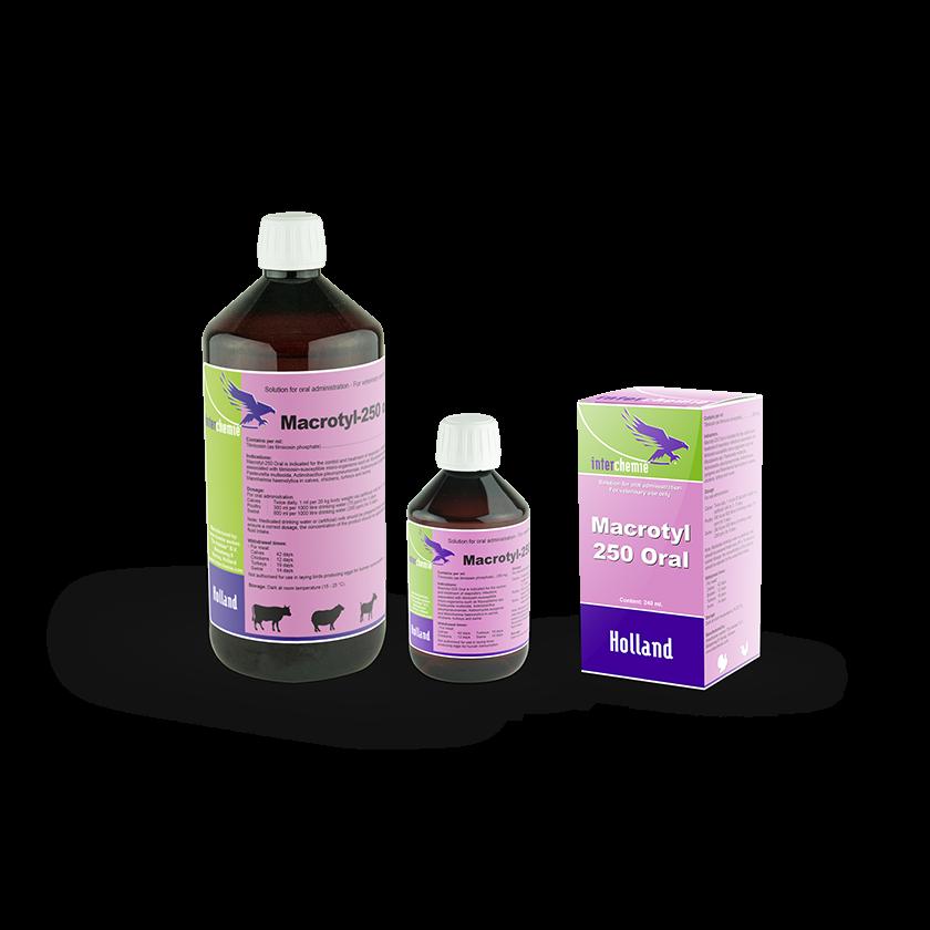 Macrotyl-250 Oral - Tilmicosin 25% oral liquid